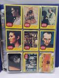 1977 Star Wars 1993 DC Trading Cards in Pages