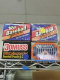 1991 1992 1993 Complete Baseball Card Sets 4 Units