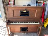 1921 Double Valve Brewster walnut player piano