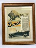 Reprint of 1916 Buick ad