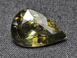 3.70ct Smokey Green Gemstone Natural Mined Stunner high end clarity