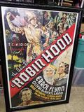 Framed Robin Hood Movie Poster