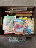 Box Full of Vintage Childs Books