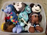 Bin Full of Disney Mickey Mouse Plush Dolls