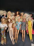Lot of Barbies from Mattel Indonesia