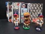 Baseball Bobblehead players. And Programs