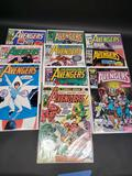 Lot of 10 Avengers Comics