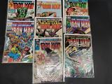 Lot of 8 Ironman Comics