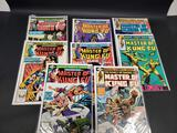 Lot of 8 Master of Kung Fu Comics