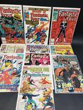 Lot of 10 Fantastic Four Comics