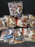 Lot of 8 Baseball figures.
