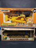 German Motorcycle Trailer Matchbox Remot Control Bulldozer