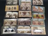 55 vintage StereoView Cards of Israel and Palestine