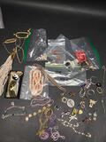 Lot of unusual pieces of jewelry and pieces