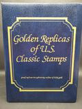 Golden Replicas of US Classic Stamps