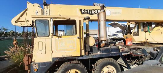 Pettibone 50TK Truck Mounted Telescopic Boom Crane 1972