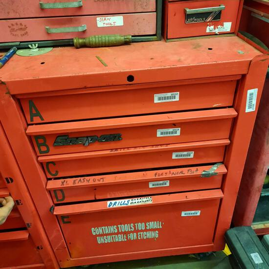 Snapon Toolbox 37 in Tall, Contents Not Included, TR5414