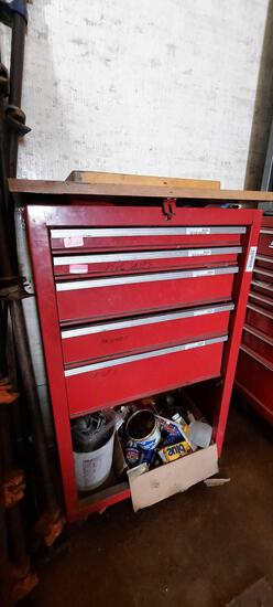 Toolbox w/ Top & Bottom Contents, Drawer Contents not included, TR5414