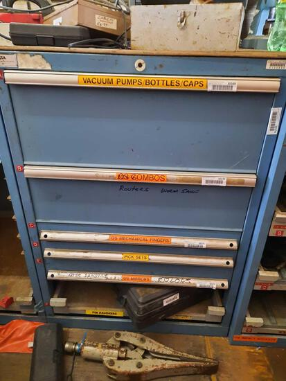 Toolbox 38in Tall, Contents Not Included, TR5414