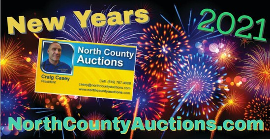 2021 New Years Day Collectors Auction