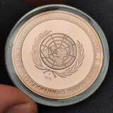 1973 United Nations Frosty Coin