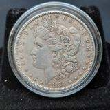 1881 Morgan Silver Dollar Toned Edges
