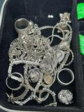 Jewelry Box full of 925 Sterling Silver
