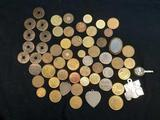 Misc Coin Lot, Foreign, Tokens, Chinese