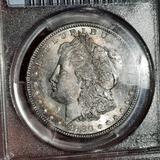 1880-S Morgan Silver Dollar PCGS MS-64 Slabbed