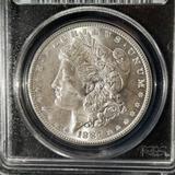 1887 Morgan Silver Dollar Graded PCGS MS-63