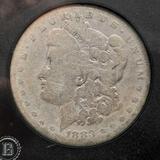 1883 Morgan Silver Dollar VG Collectors Edition Hard Case