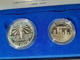 1986 U.S. Liberty Coins Silver Dollar & Half Dollar Proof Set