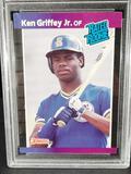 Ken Griffey Jr. 1989 DonRuss Rookie Card PSA Certified NM-MT 8+ Perfect Card