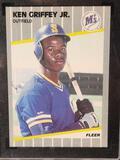 1989 Ken Griffey Jr. SGC Certified Fleer Rookie Card Certified 8.5