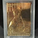 Ken Griffey Jr. 1997 Fleer 23kt Gold Rookie Repro Signed Certified WCG gem 10