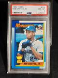 1990 Topps PSA Certified Ken Griffey Jr. Rookie Card NM-M Graded 8 Perfect Card