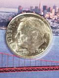 Classic Dimes From the San Francisco Mint 3 Coins 90% Silver
