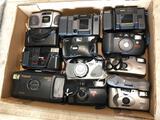 Box of Cameras, Kodak, Polaroid