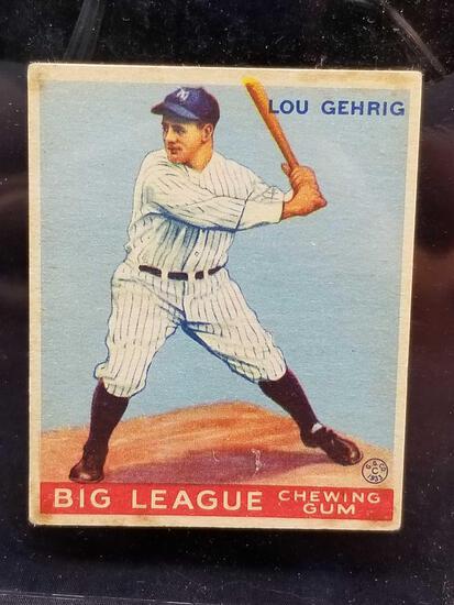 1933 Goudey #92 Lou Gehrig
