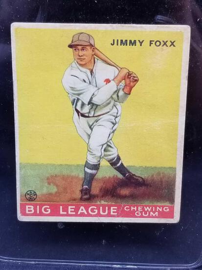 1933 Goudey #29 Jimmy Foxx