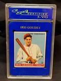 1933 Goudey CSA #77 Adam Comorosky VG3