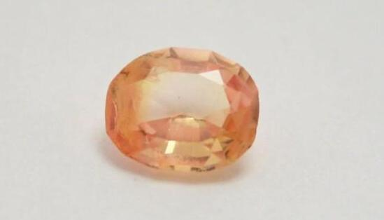3.45ct Sapphire Sri Lanka Fiery Stunning Natural gemstone Oval Cut