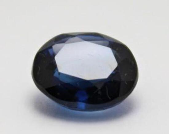 9.45ct Royal Blue Sapphire Sri Lanka Stunning Natural Huge Gem Stone w/ Gem ID Card