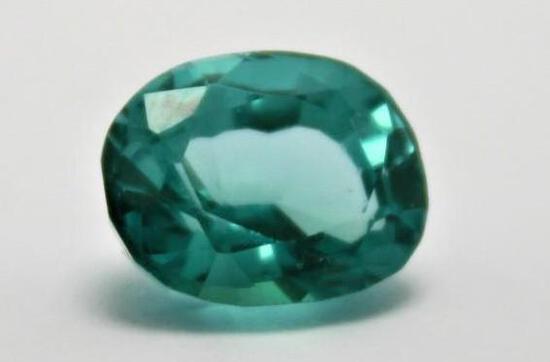 7.10ct Brazilian Tourmaline Stunning Colors Natural Gem Stone w/ Gem ID Card