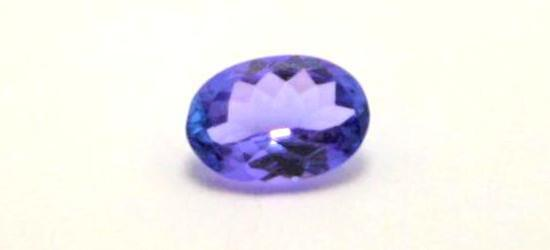 .64ct Deep Blue Purple Tanzanite Gem Stone Oval Cut