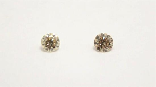 .31ct Matching Champagne Diamonds Gorgeous Sparkling Gem Stones