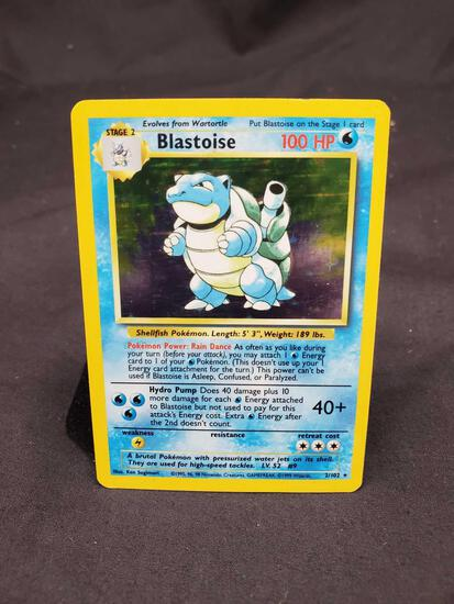 Base set Blastoise