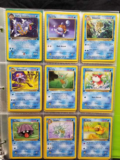 Pokemon Cards First Edition In Pages 90 Cards