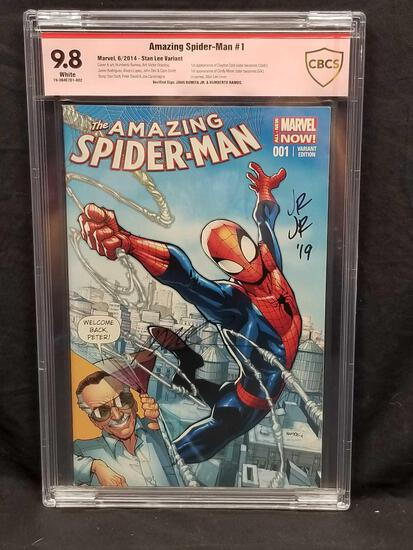 Amazing Spider Man #1 Signed Graded 9.8