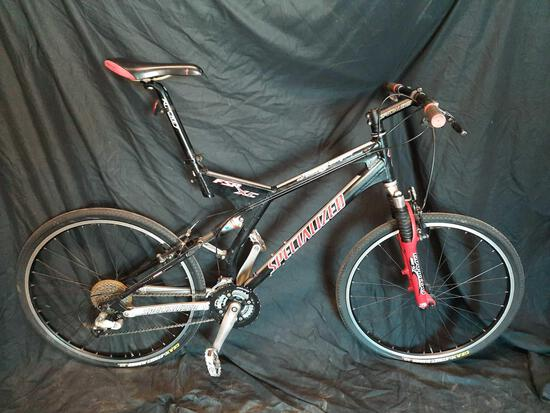 Specialized Stump Jumper FRS XC Mountain Bike w/ Manitou & Fox Racing Shocks,Street Runner Tires